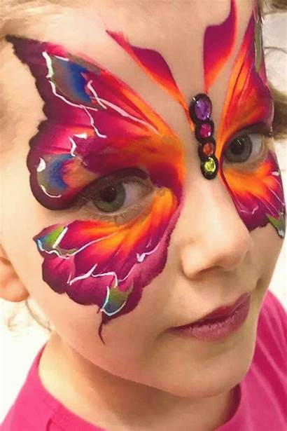 Face Painting Paint Butterfly Easy Tattoos Adult