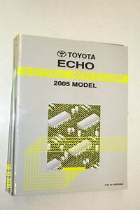 2005 Toyota Echo Electrical Wiring Diagram Service Manual