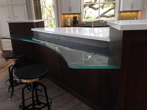 glass countertops  kitchens bathroom vanities  bar