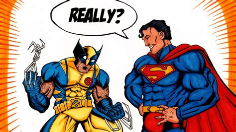 Superman Vs Wolverine And More