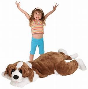 "60"" Jumbo St. Bernard Dog Large Plush Stuffed Animal Giant ..."