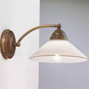 Wandlampen Aussen Landhausstil : wandlampe mit schirm wandleuchte antik wei mit schirm ~ Michelbontemps.com Haus und Dekorationen