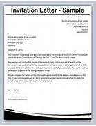 Invitation Letter Formal Event Invitation Letter Template How To Write Invitation Letter For Meeting Cover Letter Templates Invitation Letter Template Formal Invitation Letter Example