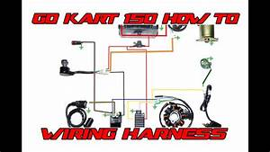 Go Kart 150 Basic Wiring Harness How To