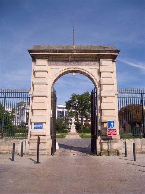 ecole veterinaire de maison alfort file 201 cole v 233 t 233 rinaire de maisons alfort entrance gate jpg wikimedia commons
