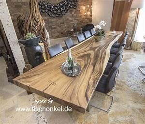 Esstisch Aus Massivholz Der Tischonkel