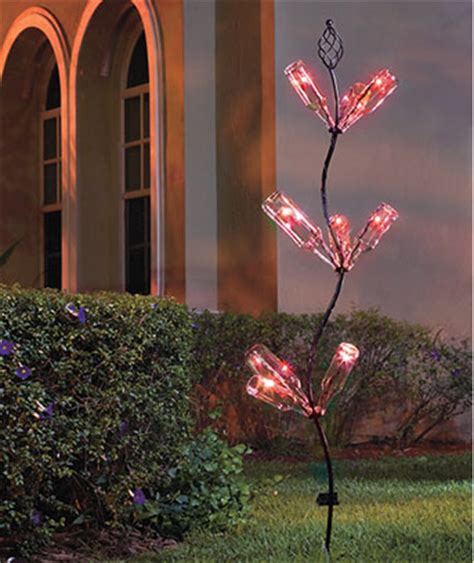 solar color changing bottle tree  commodities