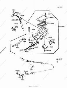 Kawasaki Motorcycle 1987 Oem Parts Diagram For Clutch