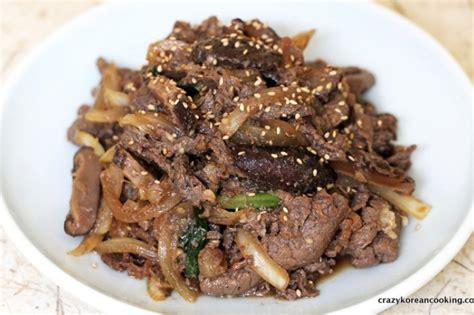 bulgogi recipe bulgogi marinated beef sirloin crazy korean cooking