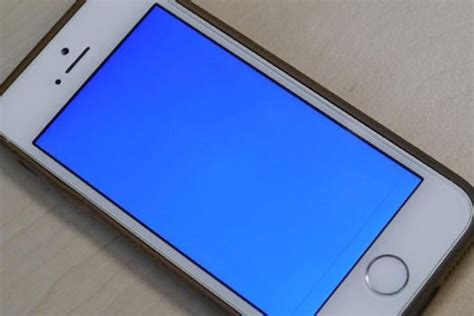 blue screen of iphone 5s iphone 5s problems and how to fix them even the blue