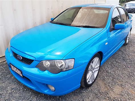 ford falcon xr bf mk ii  blue  vehicle sales