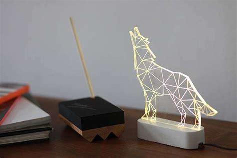 handmade modern concrete led lamps add aesthetics