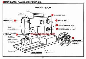 Riccar 3300 Instruction Manual