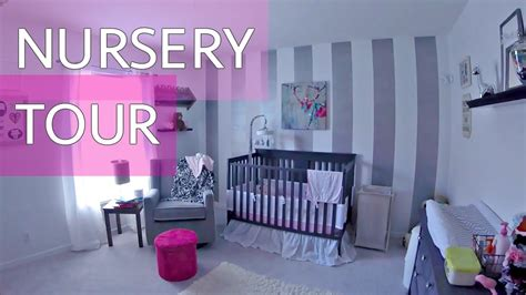 Baby Girl Nursery Tour! Youtube