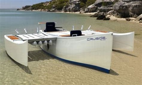 Trimaran Pontoon by Wooden Lobster Boats Pontoon Fishing Boats For