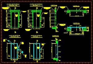 Details Elevators In Elevation DWG Detail for AutoCAD