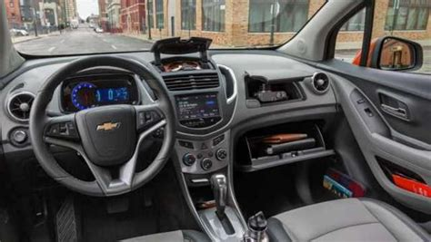 chevy trax interior 2017 chevrolet trax redesign release and changes future