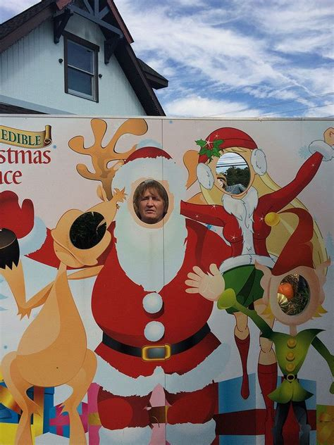 christmas themed face   hole boards images