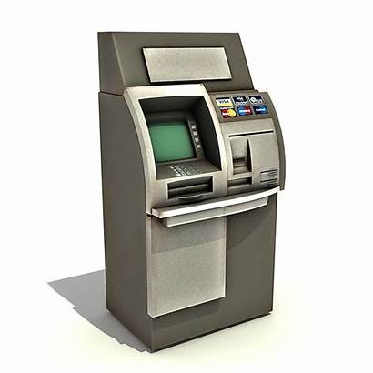 Atm Teller Machine Automated Automatic Security 3ds