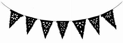 Banner Bunting Mexican Flag Flags Paper Fiesta