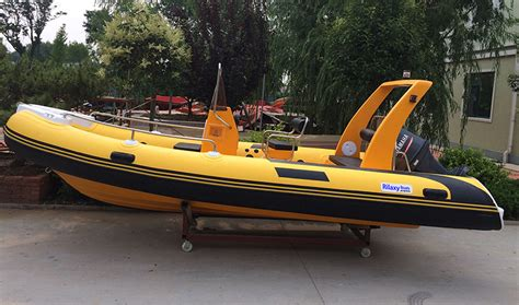 Fishing Boats For Sale Indonesia by China Manufacturer Made New 17ft Rib Rigid Hypalon