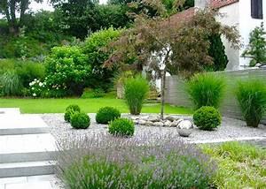Garten Pflanzen : beispiele moderner garten terrasse sichtschutz gartenplanung schwimmteich ~ Eleganceandgraceweddings.com Haus und Dekorationen