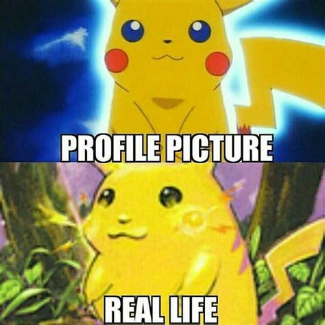 pikachu hahaha profile picture  real life funny memes