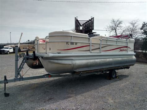 Sweetwater Pontoon Boat Covers by 2008 Sweetwater 22 Pontoon Boat For Rent Sardis Marina