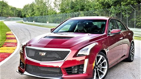 2018 Cadillac Cts V Review  Car 2018 2019