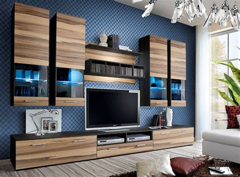 Black Storage Unit Living Room : Best 25+ Living Room Wall Units Ideas Only On Pinterest