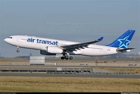 c gtsz air transat airbus a330 200 at charles de