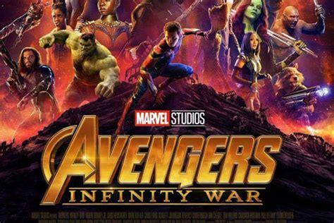 el nuevo poster de vengadores infinity war tambien es