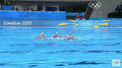 Olympics Olympic Fundraising Swimming Synchronized Gifs Splash