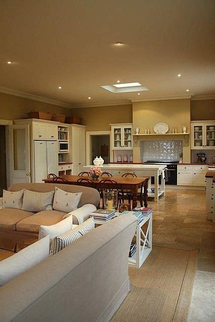 kitchenfamily room combo images  pinterest