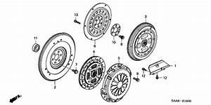 Clutch  Flywheel For 2004 Honda Jazz Gd3