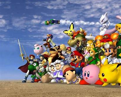 Nintendo Characters Wallpapersafari Hq