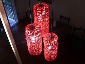 Foto: Lámparas con Forma Cilindro e Hilos de Cáñamo de Marta #914183 Habitissimo