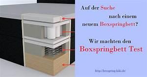 Topper Für Boxspringbett : boxspringbett test 2018 testsieger im vergleich ~ A.2002-acura-tl-radio.info Haus und Dekorationen
