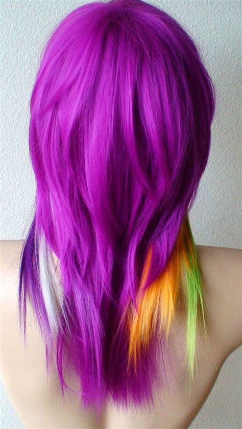25 Best Ideas About Colored Wigs On Pinterest Crazy