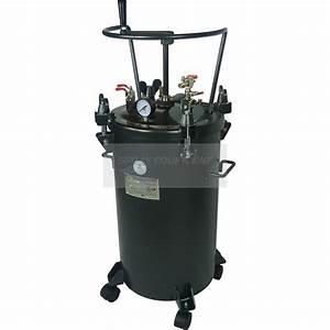 Paint Pressure Tank 40 Litre Manual Agitator