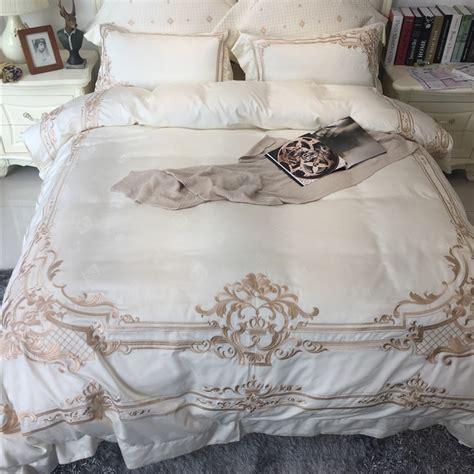 champagne bedding
