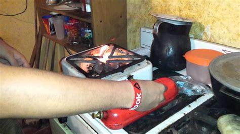 tutorial como encender una estufa de gasolina youtube