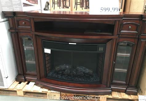 fireplace nice   heat  living room  costco