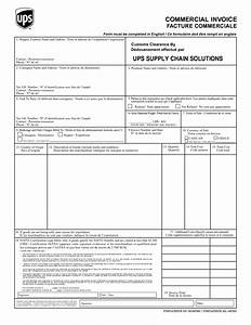 commercial invoice ups invoice template ideas With ups commercial invoice fillable form
