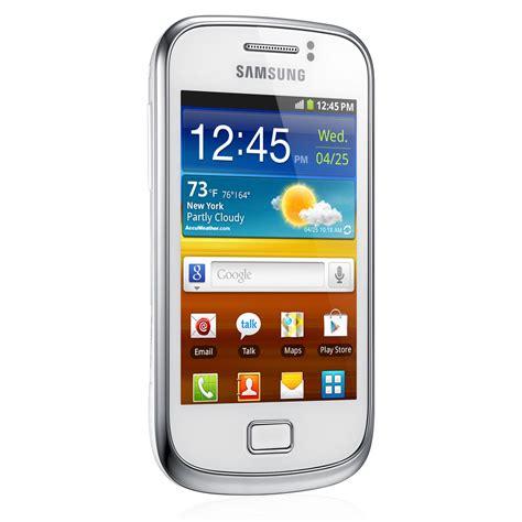 Samsung Mini Mobile by Samsung Galaxy Mini 2 Gt S6500 Blanc Mobile Smartphone