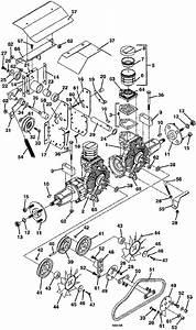 Drive Assembly 2000 Grasshopper 616 Lawn Mower Parts