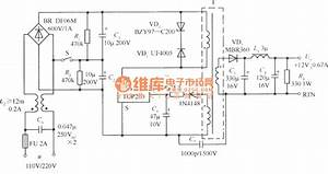 Switch Voltage Regulator Circuit Using 110v Voltage