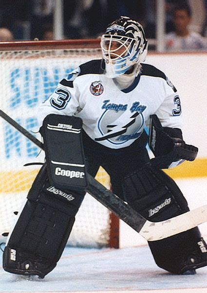 manon rheaume tampa bay lightning team issued