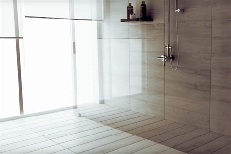 innovative concealed shower trays the butech shower deck