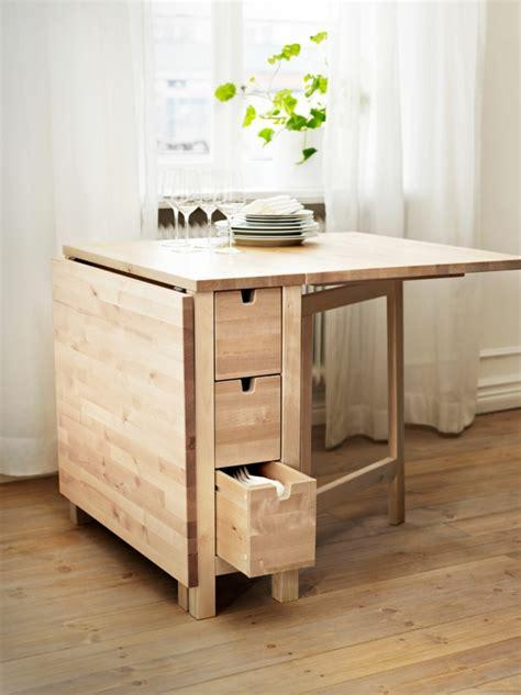 table pliante pour cuisine designs créatifs de table pliante de cuisine